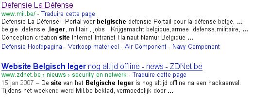 websiteABL-Google weergave 7/8/2012