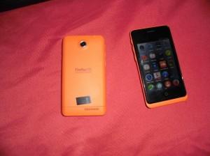 Smartphone met FirefoxOS